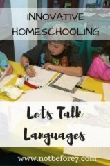 Let's talk about coding languages when teaching our kids.