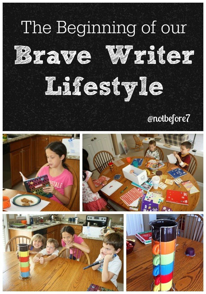Our Brave Writer Lifestyle Begins