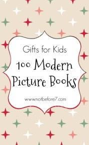 100 Modern Picture Books for gift giving.