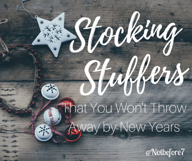 More than 80 stocking stuffer ideas that are worth the money. You won't want to throw these away by New Years!