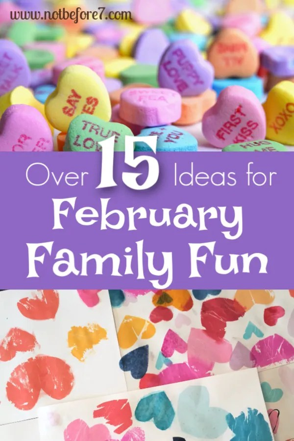 Over 15 Things to do in February with Your Family