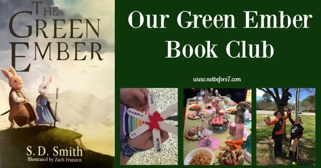 Food, fun, and ideas for a Green Ember Book Club.