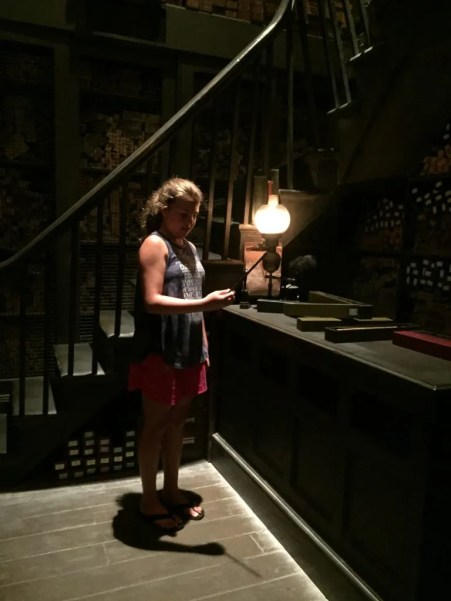 12 Tips for Harry Potter World - Go to the wand show before buying your wand.