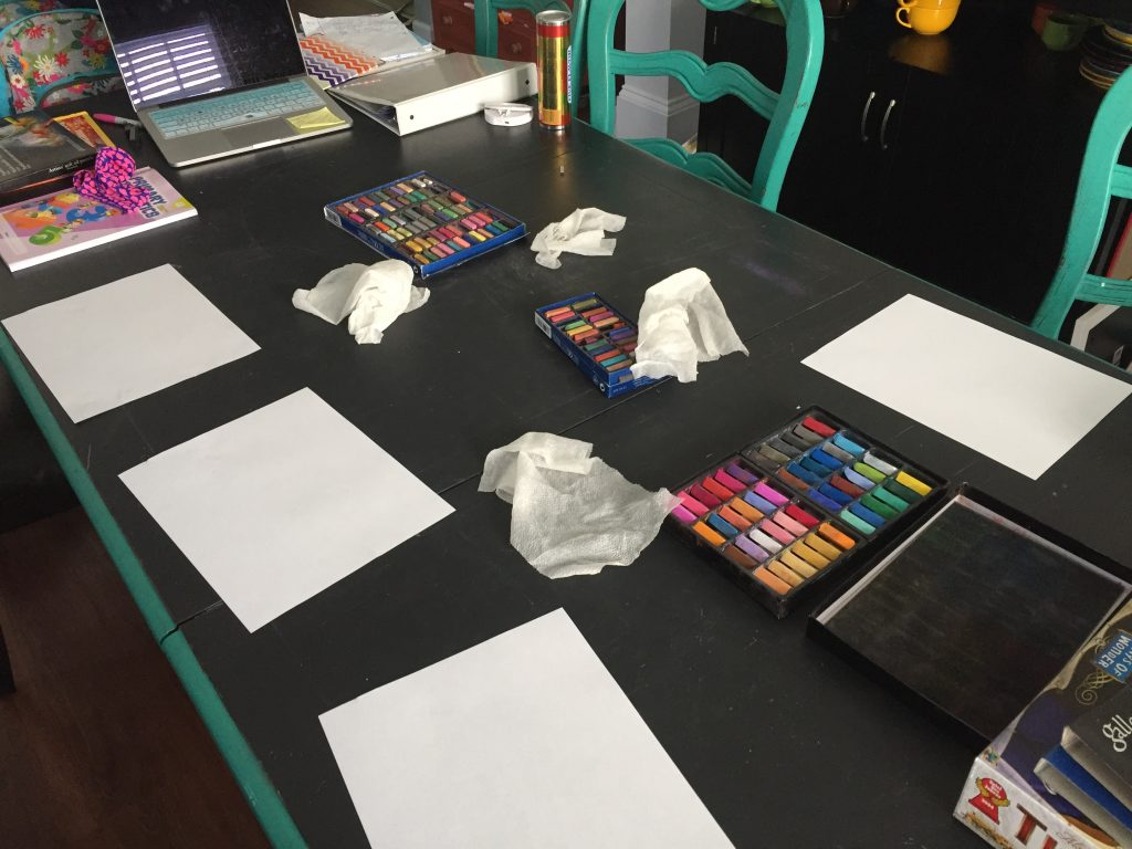 Ready to begin our Seashore Video Art Chalk Pastel Course.