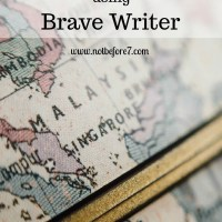 Geography using Brave Writer
