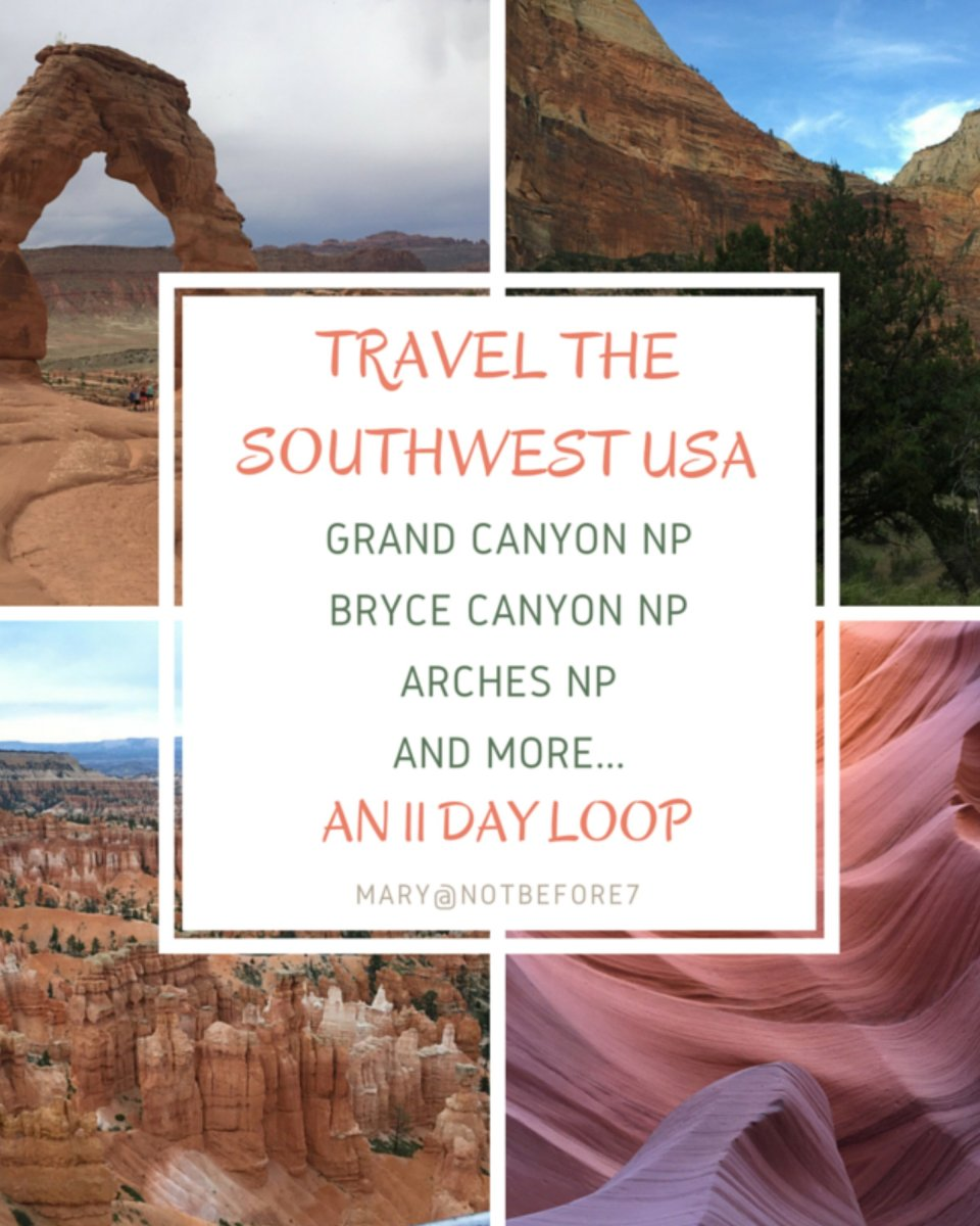Travel the Southwest USA with Kids