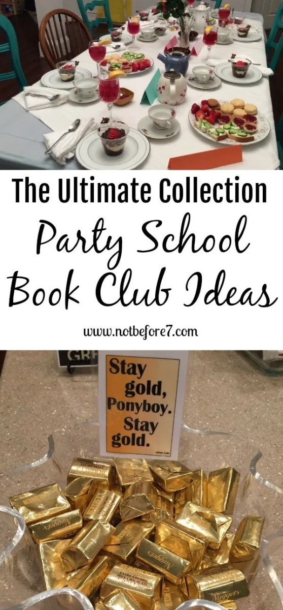The Ultimate Collection of Party School Book Club Ideas