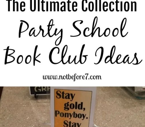 Find all of the book club party school ideas that we have completed in our homeschool. Grab ideas for family fun or book clubs of your own.