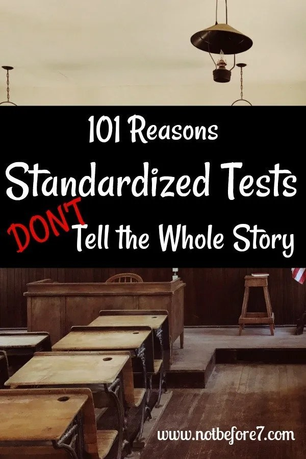 101 Things a Standardized Test Can't Measure.