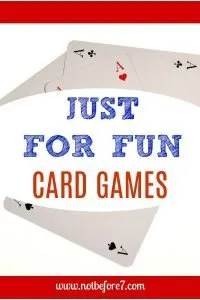 Cards Games that our fun for our whole family.
