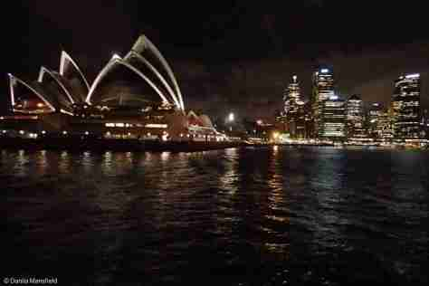 ON THE FERRY FROM MANLY, SYDNEY