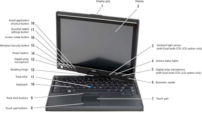 Dell Latitude XT Notebookcheckfr