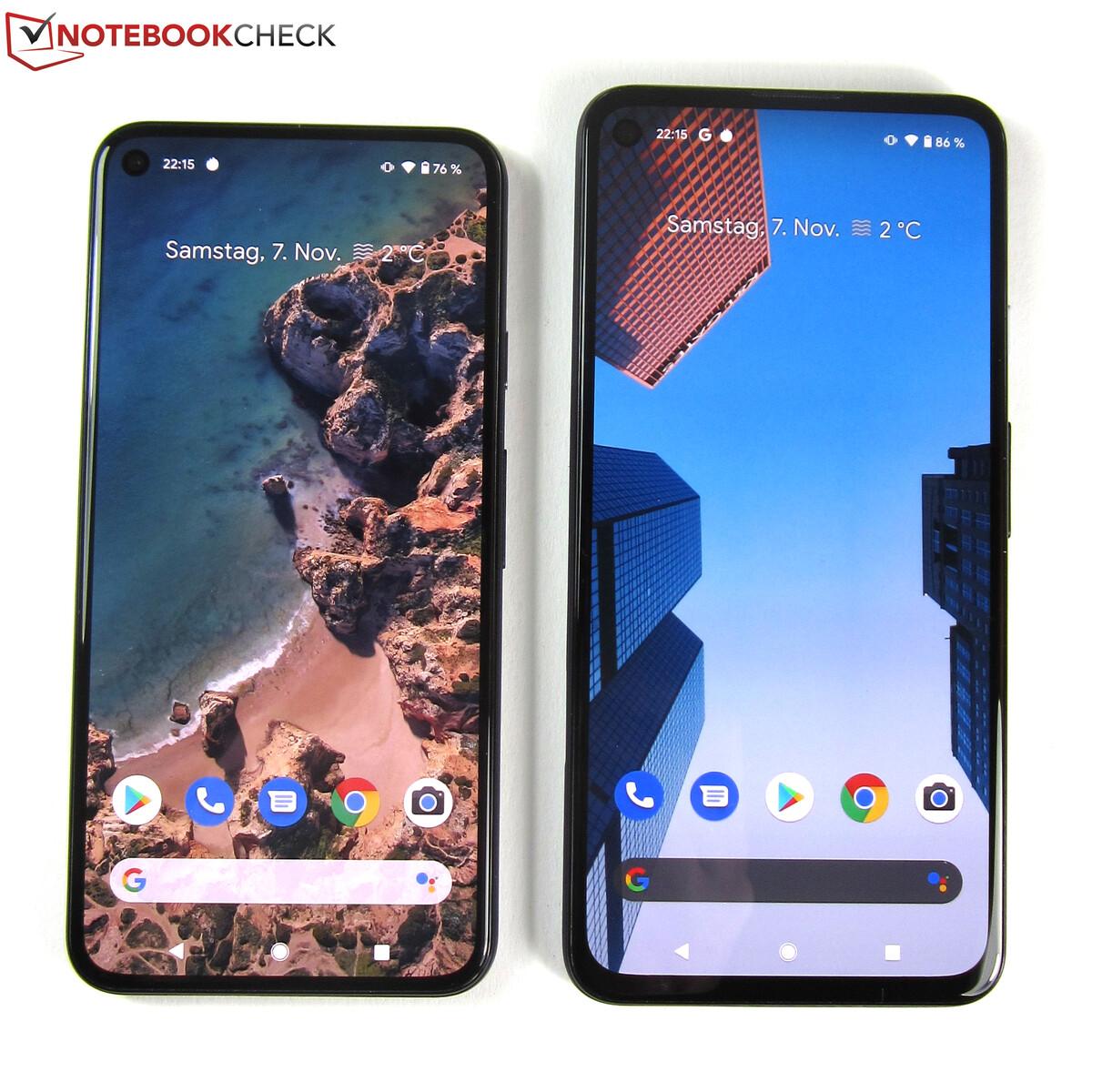 google pixel 4a 5g die testergebnisse