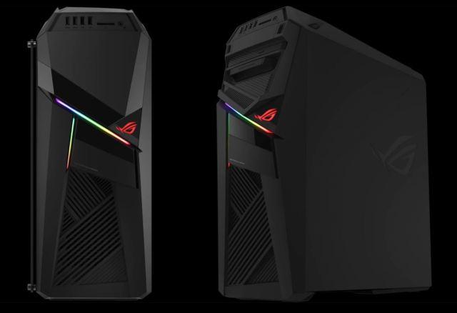 20180111 Asus ROG Strix RL12 Gaming Desktop ASUS ROG Strix GL12 gaming desktop with Integrated Aura Sync Lighting and transparent side panel