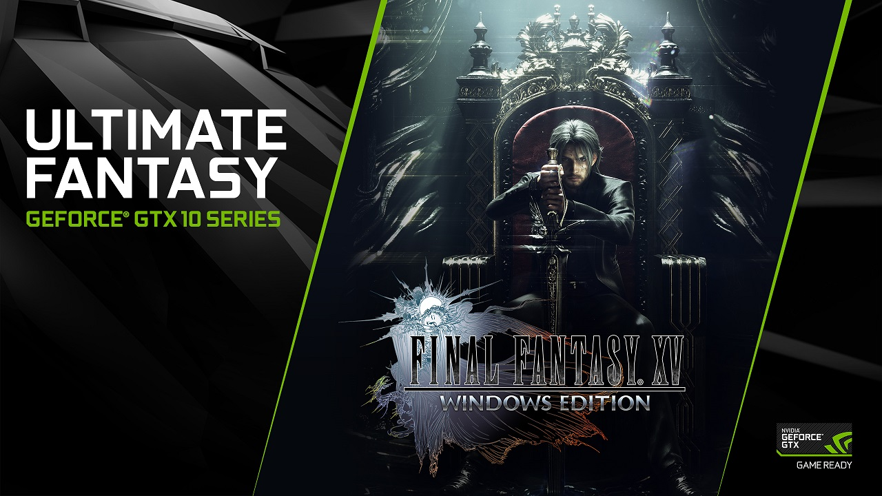 Nvidia Release New GeForce Game Ready Driver For FFXV With