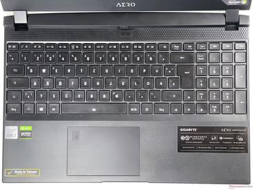 Aero 15 OLED XC - Keyboard