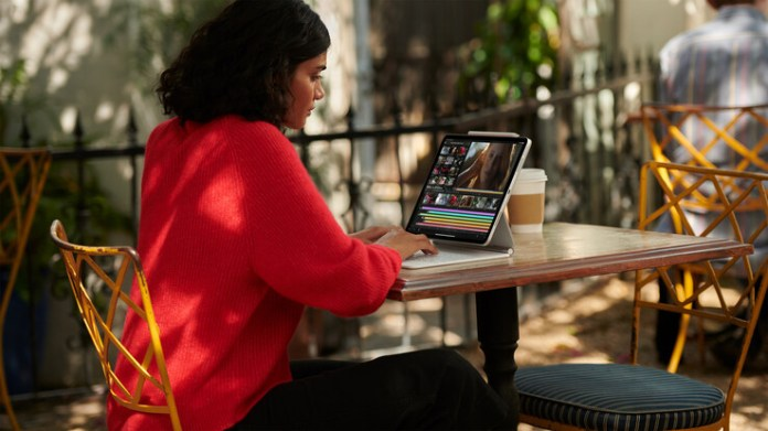 The iPad Pro is on the cusp of being the laptop replacement many crave. (Image: Apple)