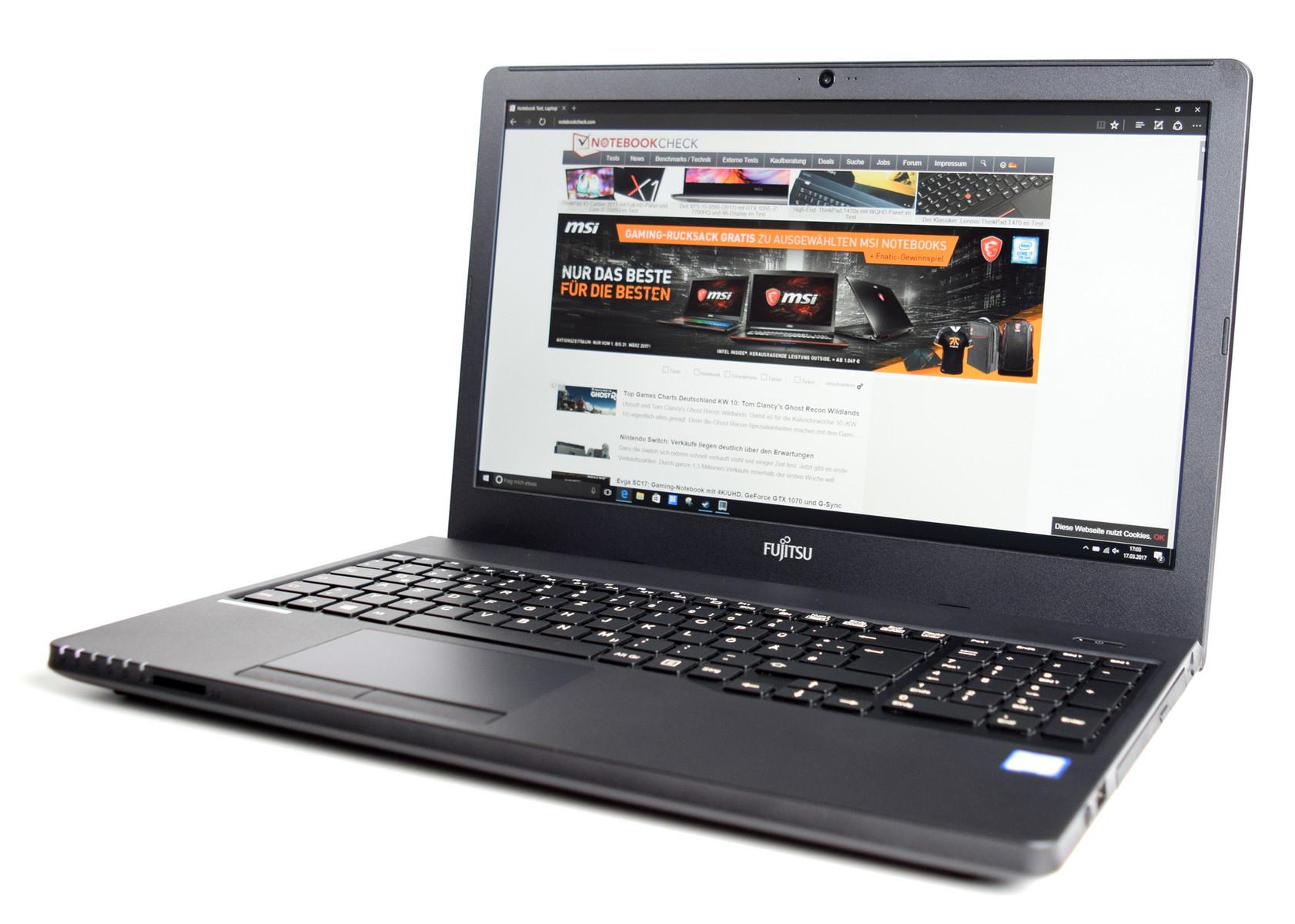 Fujitsu Lifebook A557 External Reviews