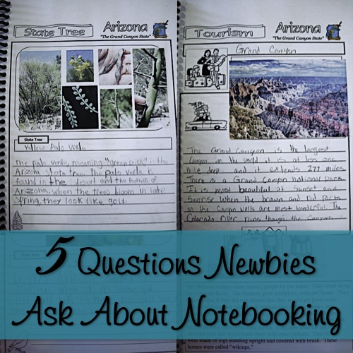 Notebooking Nook: 5 Questions Newbies Ask About Notebooking