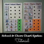School & Chore Chart System Tutorial