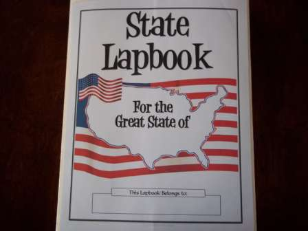 State Lapbook Cover