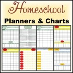 Homeschool Planners & Charts from Notebooking Nook