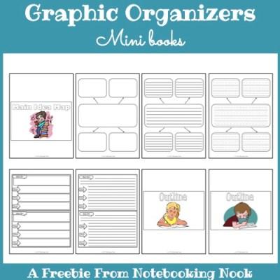 Graphic Organizers Mini-books