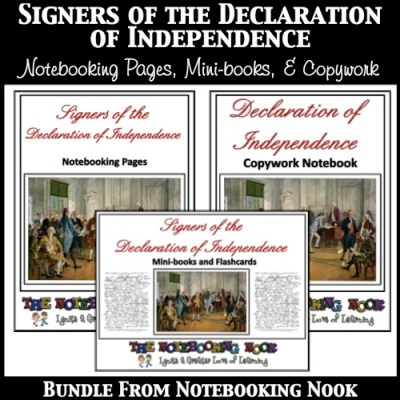 Signers of the Declaration of Independence Bundle