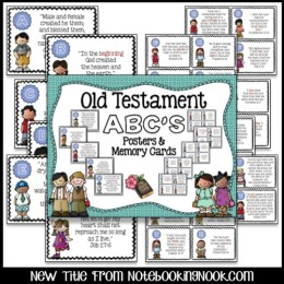 Old Testament Wall Posters & Memory Cards