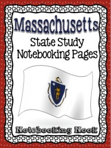Revised Massachusetts State Study Notebook from Notebooking Nook