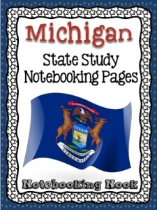 Revised Michigan State Study Notebook from Notebooking Nook