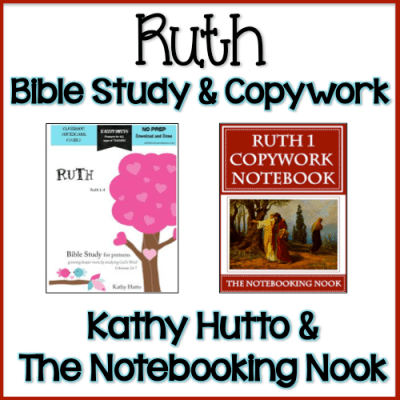 Ruth Bible Study and Copywork Bundle - only $1.99!