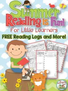 FREE Summer Reading is Fun for Little Learners - Reading Logs and More!