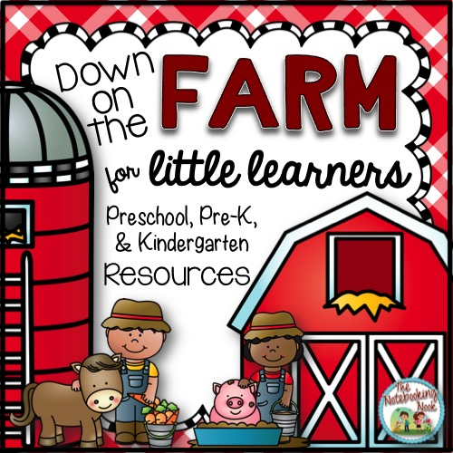 Down on the Farm Activity Notebook