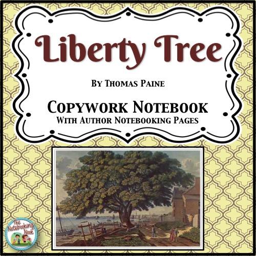 Patriotic Poems: Liberty Tree Copywork Notebook