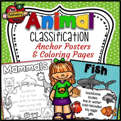 coloring pages animal classification lesson - photo#29