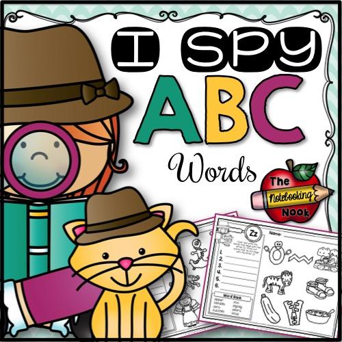 I Spy ABC Words