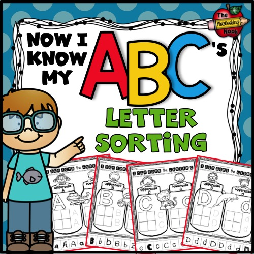 Now I Know My ABC's Letter Sorting