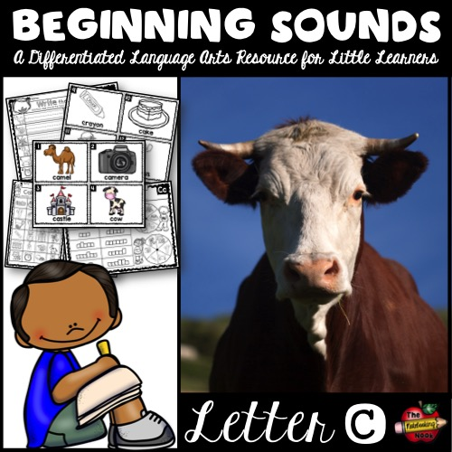 Beginning Sounds - Letter C