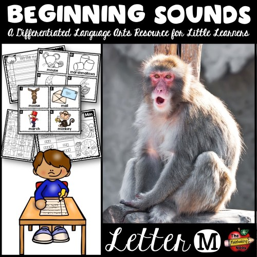 Beginning Sounds - Letter M