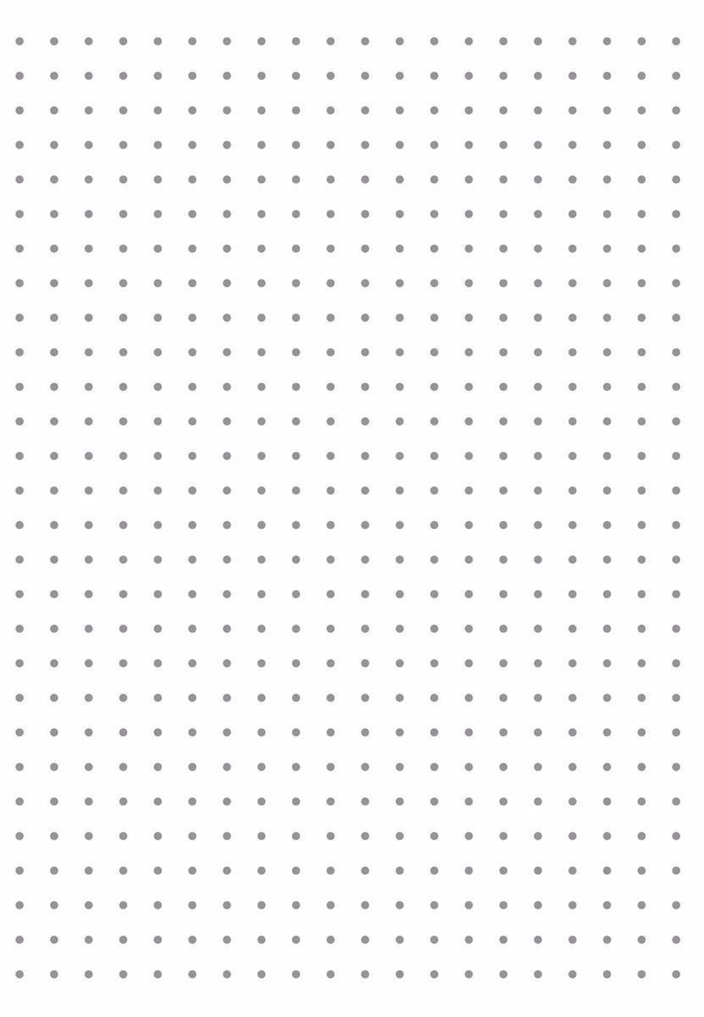 This is an image of Satisfactory Dotted Paper Printable