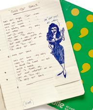 Handwritten AC/DC Lyrics Notebooks Sell For $35,000