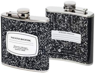 Notebook Flasks - The Digital Reader