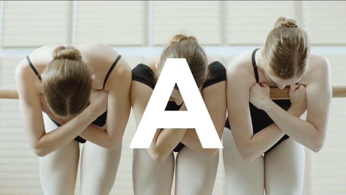? A to Z on pointe: l'alfabeto della ballerina