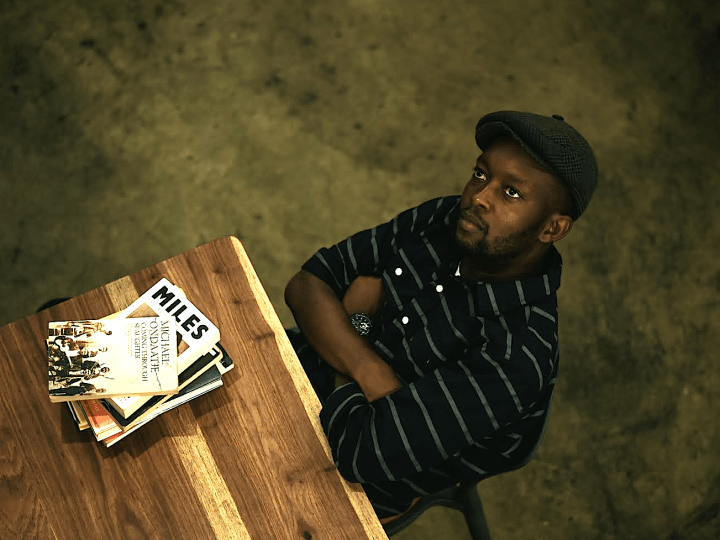 Journalist, artist and author Percy Mabadu. Image by Siyabonga Mkhasibe