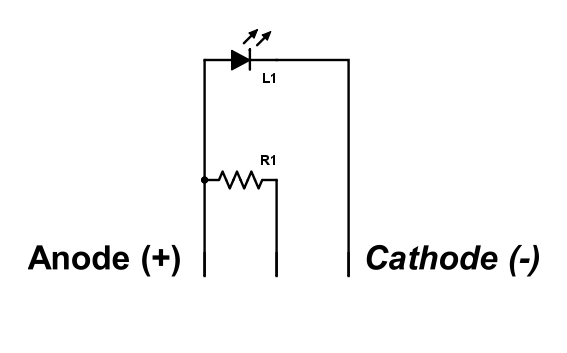 LED module schematic