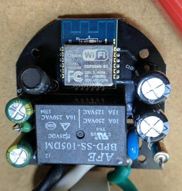 ESP8266 inside a smart plug