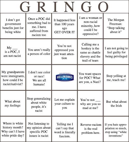 White-Privilege-Denial-Bingo