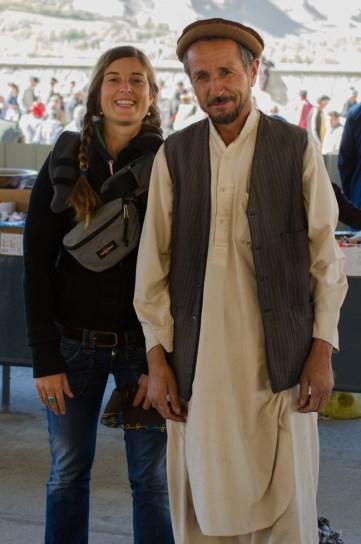 Afghanischer Kleiderverkäufer
