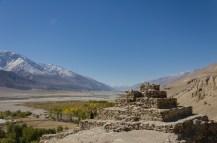 Buddhistische Stupa, Vrang, Wakhan Valley